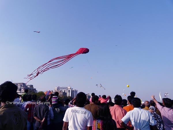 First impression of Ahmedabad kite festival @lemonicks.com