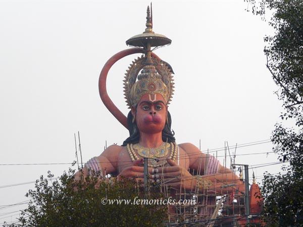 hanuman statue delhi @lemonicks.com
