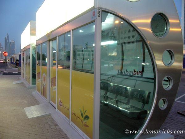 bus service Dubai
