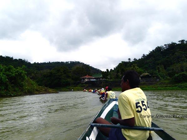 rowing to Pagsanjan @lemonicks.com
