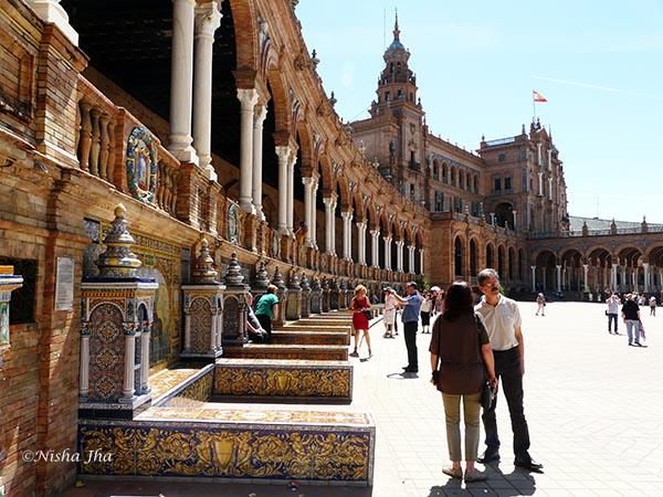 Plaza de España Sevilla @lemonicks.com