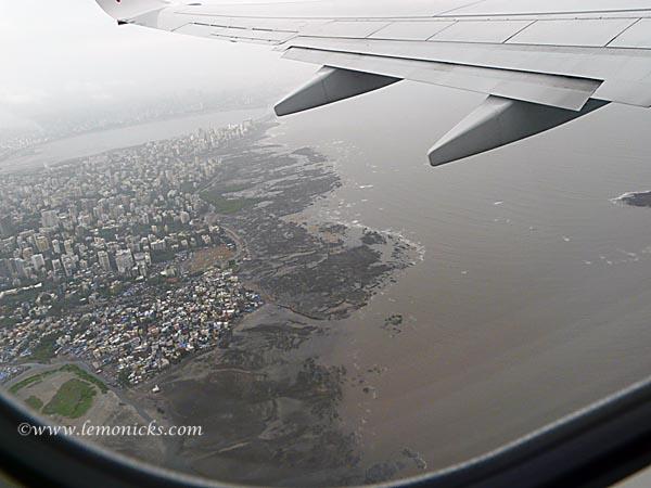 Mumbai from above @lemonicks.com