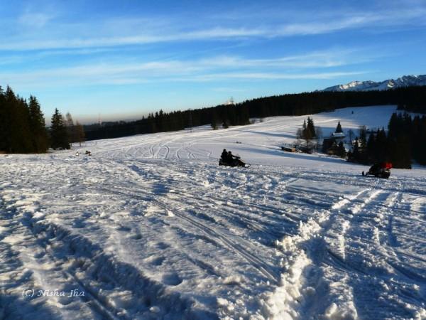 Snow in zakopane @lemonicks.com
