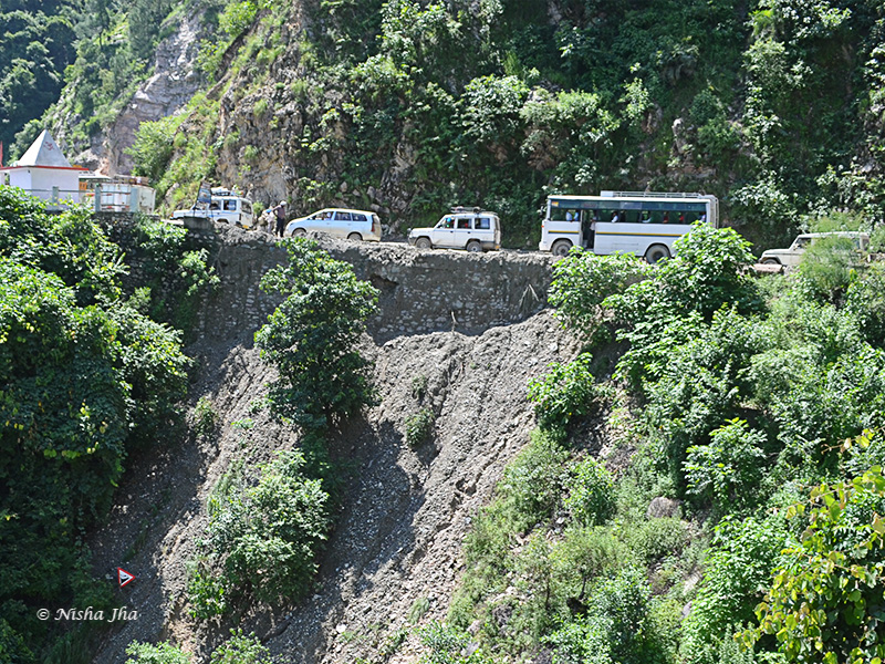 Let nothing stop you on your quest, not even landslides
