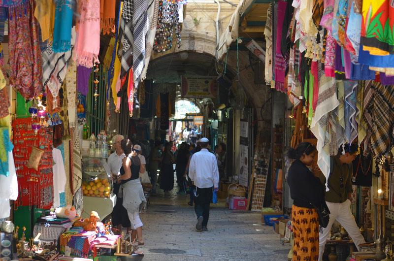 Street Market, Walled City, Jerusalem