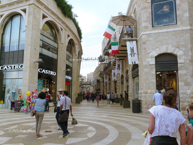 Mammilla Mall, 48 hours in jerusalem