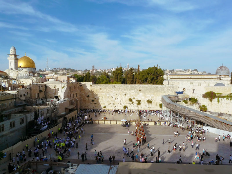 Western Wall or the wailing wall, 2 days in jerusalem itinerary lemonicks