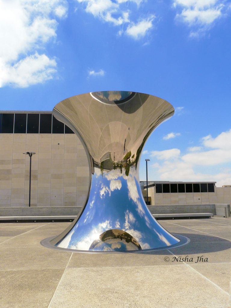 Anish Kapoor's Turning world upside down at Israel Museum, 2 days in jerusalem itinerary