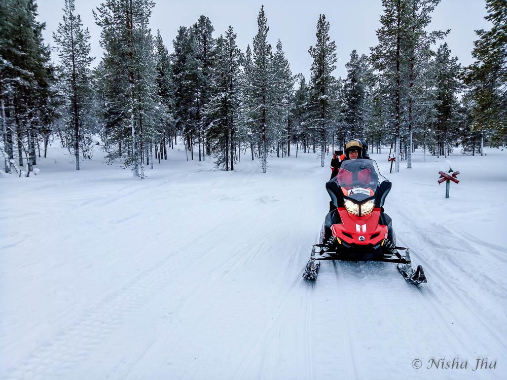 things activities saariselka lapland snowmobiling @lemonicks.com