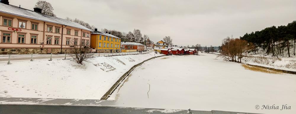 pictures finland porvoo winter winterland @lemonicks.com