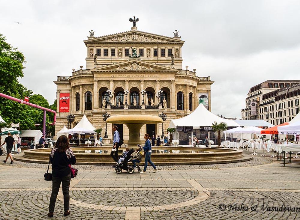 Alte Oper, Old Opera building Frankfurt