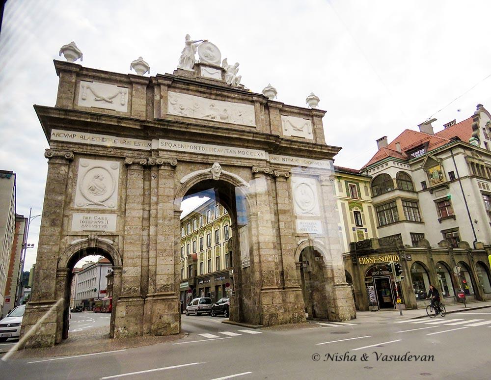 Walking Tour of Innsbruck, Austria. Self guided Innbsruck Walking tour