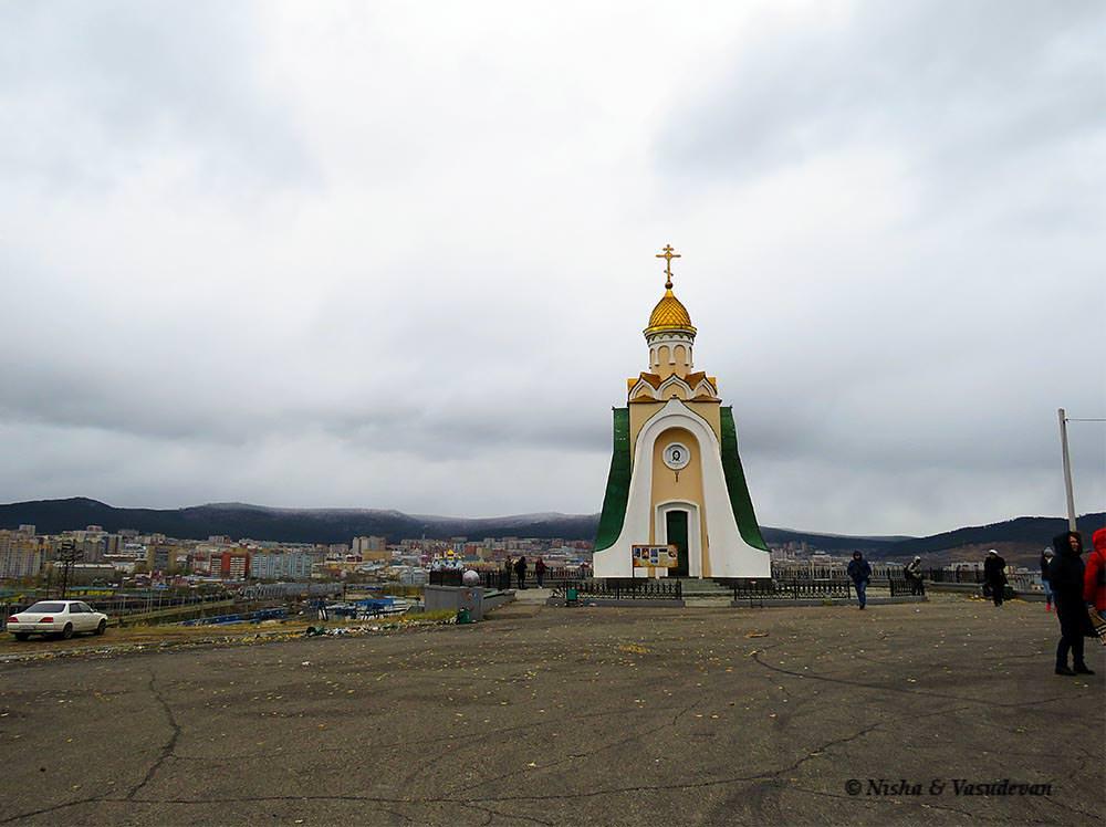 Titovskaya Hill Alexander Nevsky Chapel Chita @lemonicks.com