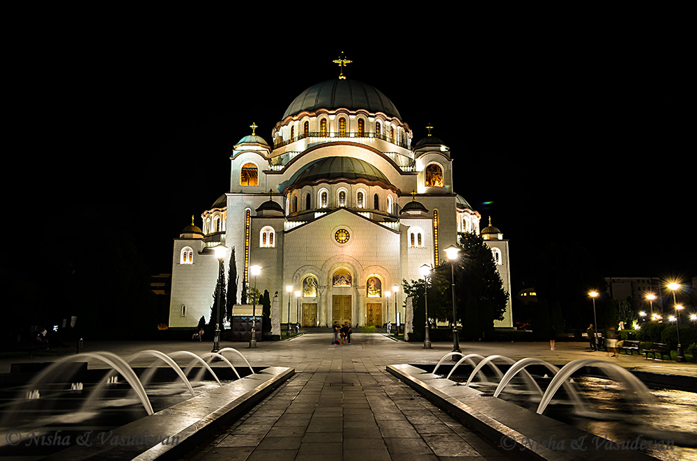 failing to plan is planning to fail, Iprotect , travel plan finance packing list Belgrade Church of St. Sava,