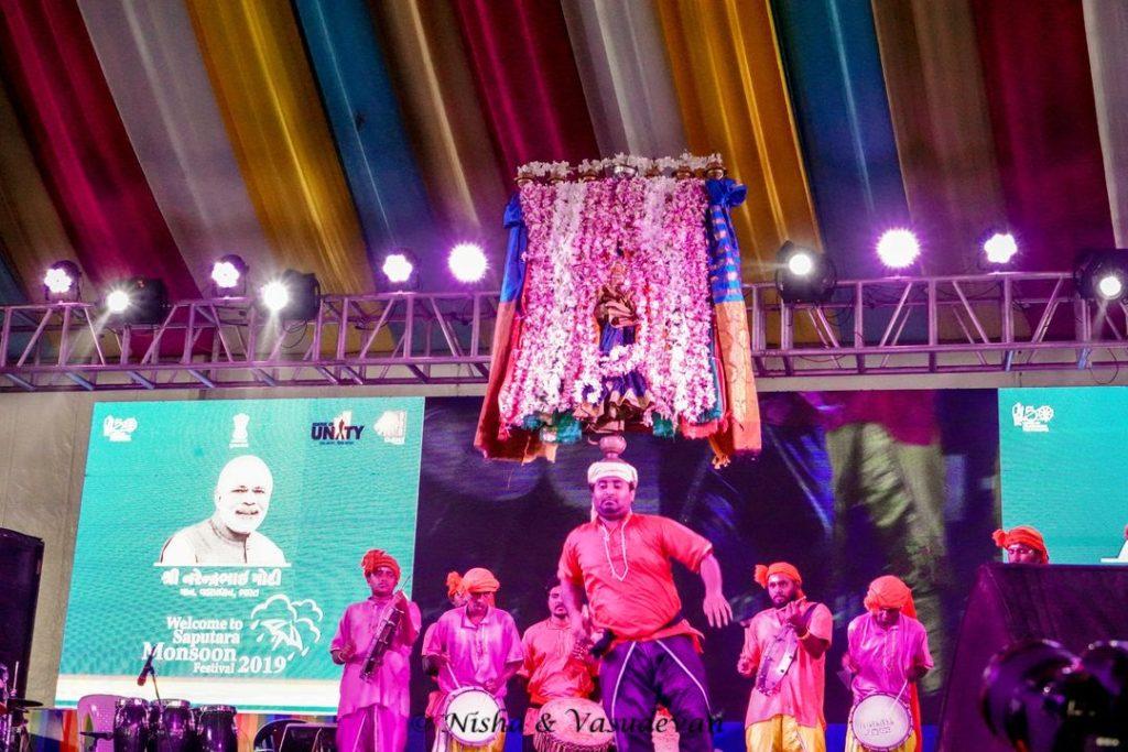 Saputara Monsoon Festival Karnataka Folk Dance