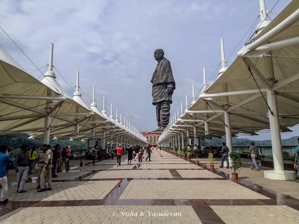 The bridge, Sardar Patel Statue of Unity