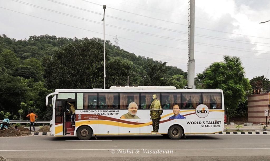 Sardar Patel SOU Bus Service