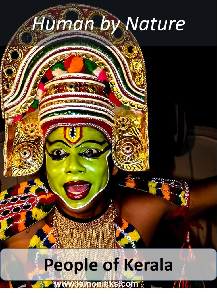 People of Kerala juman by nature in God's own country
