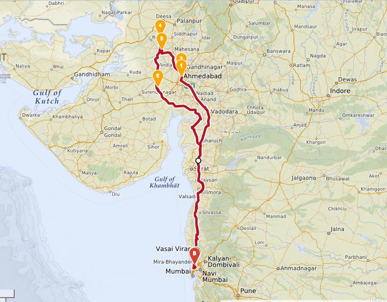 Road trip to Gujarat in Ford Figo