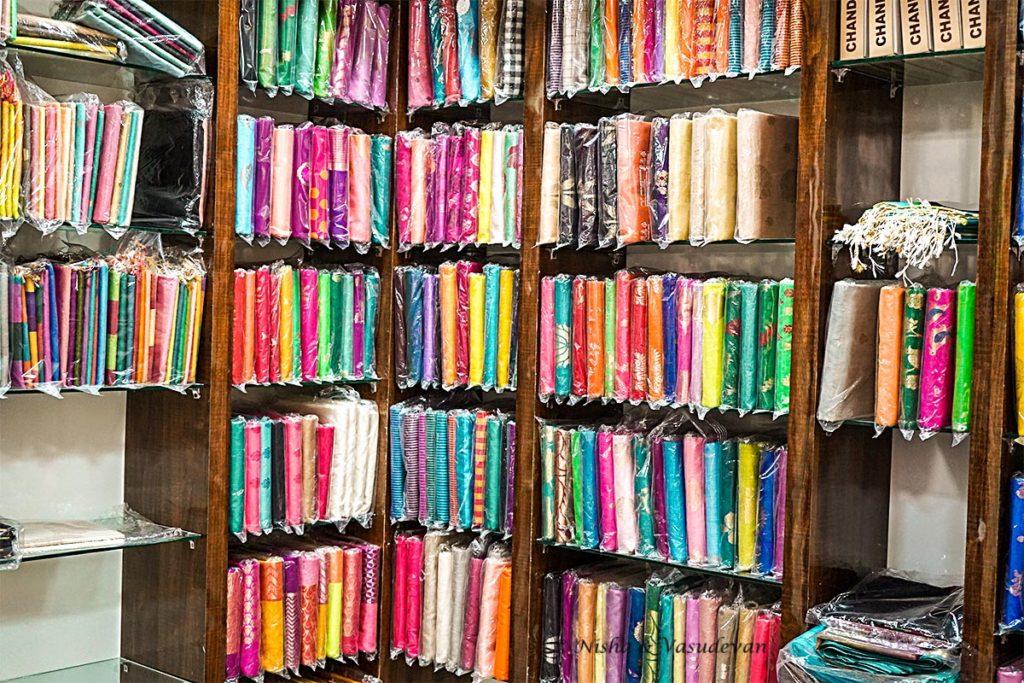 Retail Store Chanderi Sarees
