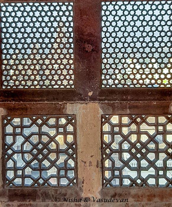 Lattice Work , Orchha Fort Complex Madhya Pradesh