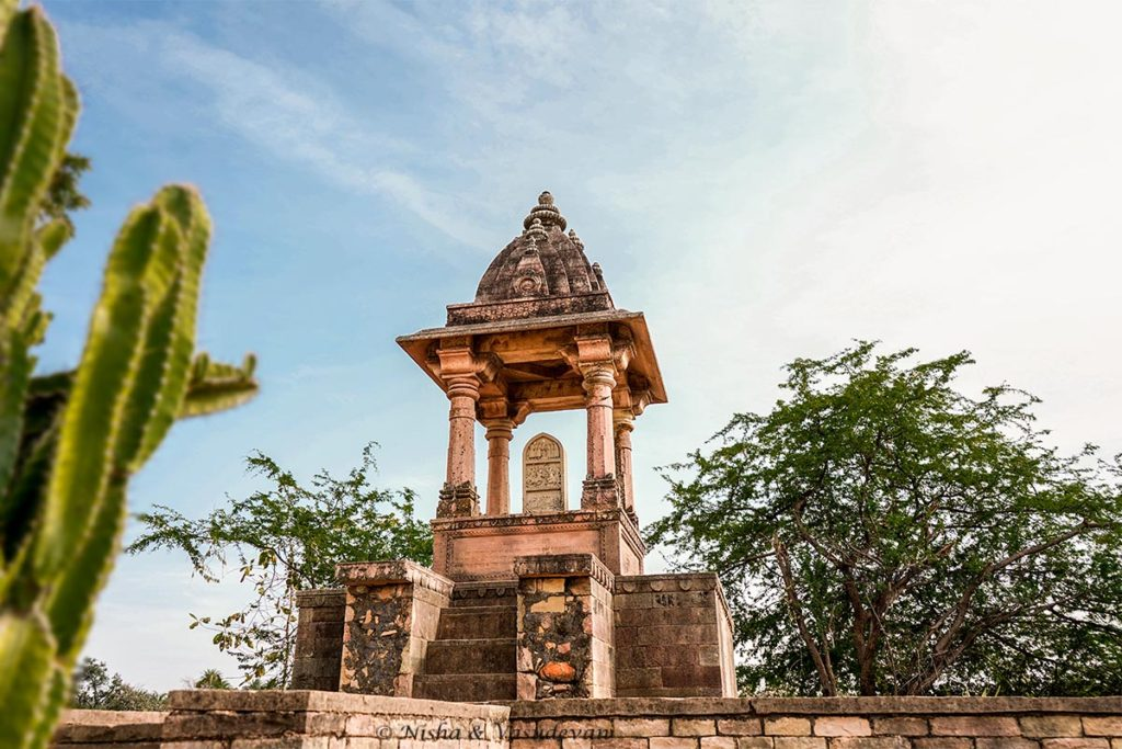 chanderi things to do Jauhar Memorial