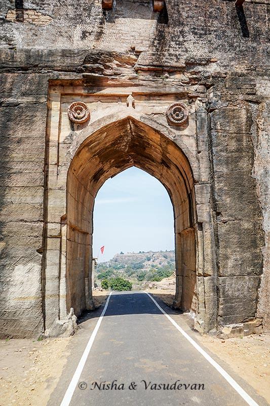 chanderi guide Kati Ghati Gate