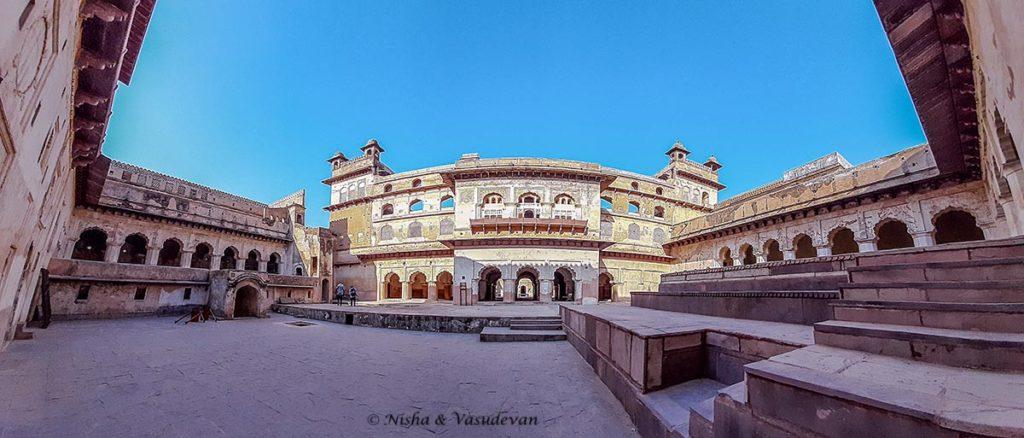 Raja Mahal Orchha Fort Complex MP