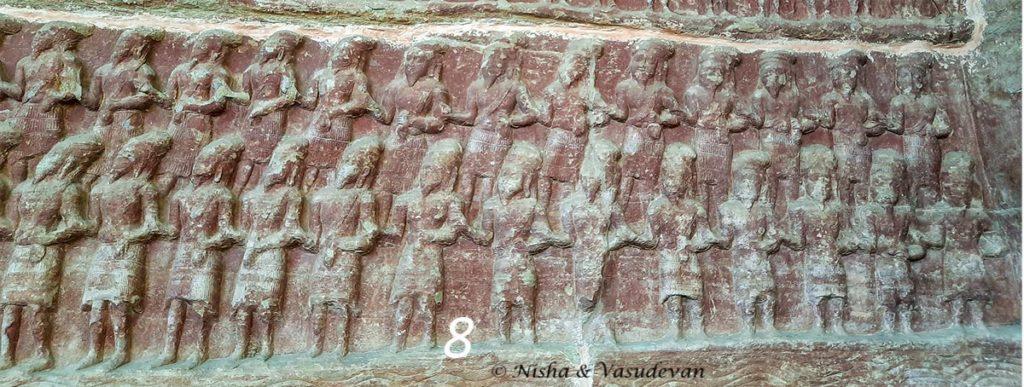 Udaigiri  Cave temple Madhya Pradesh Sages and rishis
