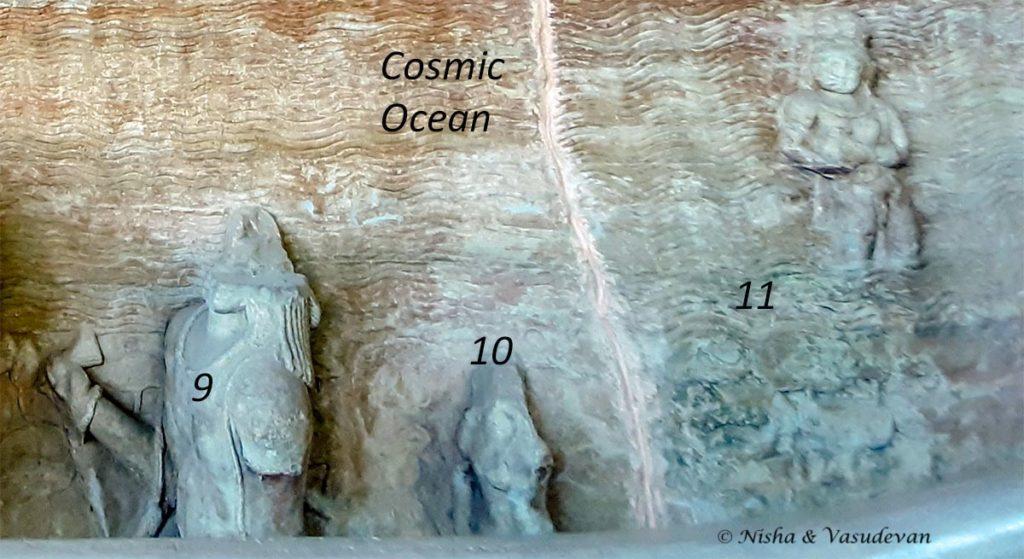 Udaigiri  Cave 5 Varaha panel