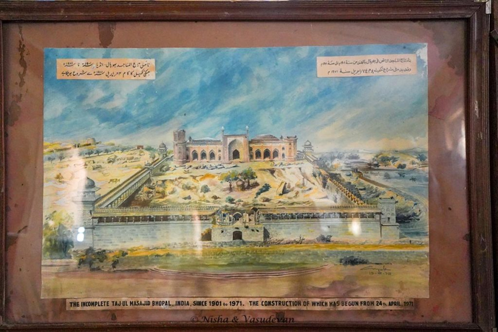 Unfinished tajul masajid bhopal