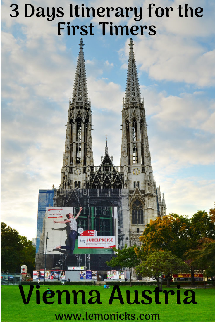 things to do in vienna 3 days itinerary for first timers