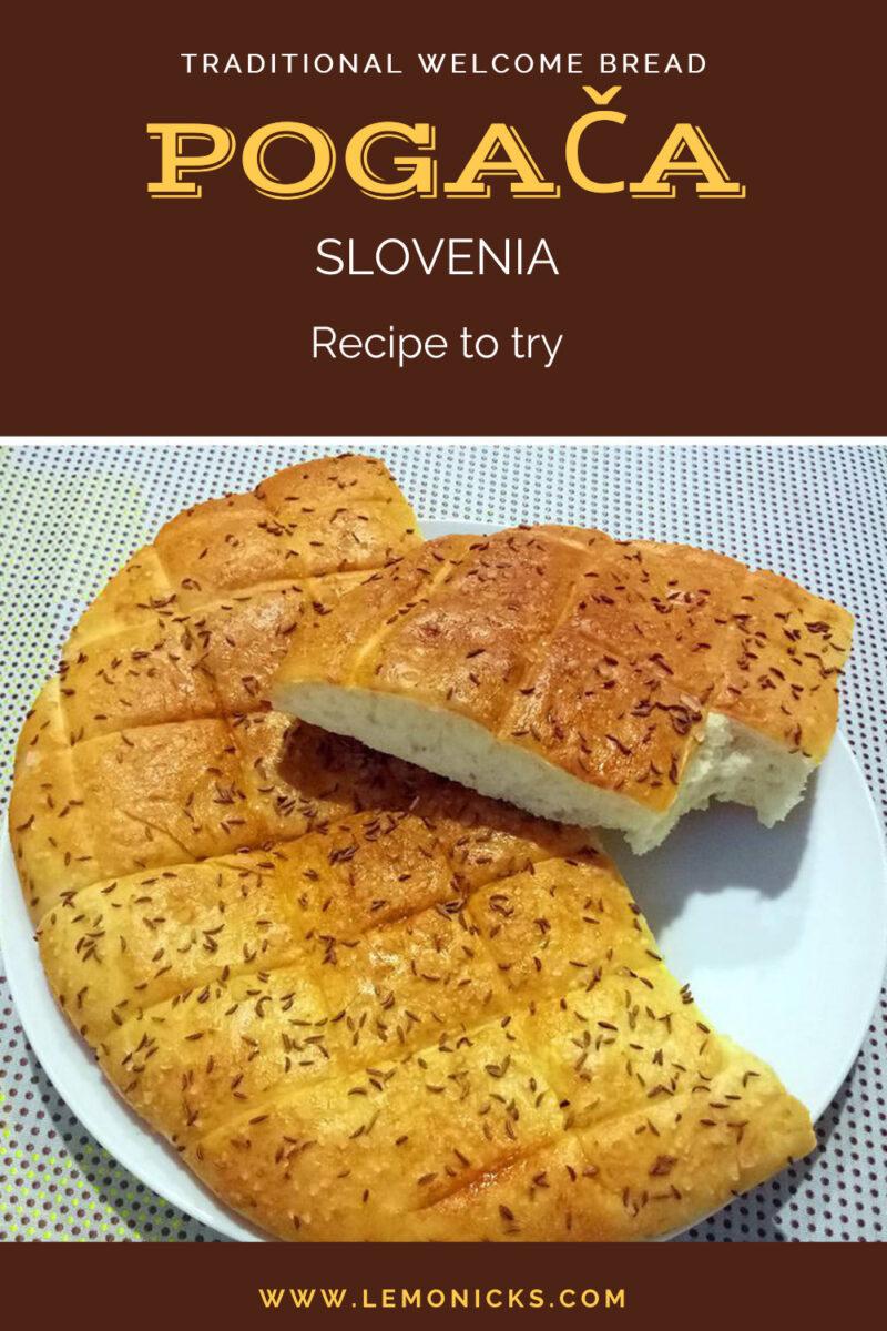 Solvenia bread Pogača @www.lemonicks.com