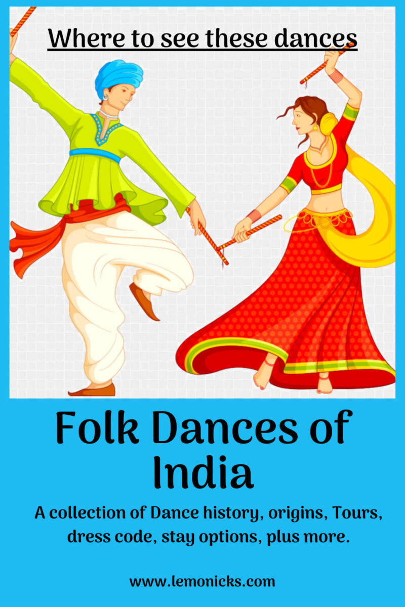 Folk Dances of India @www.lemonicks.com