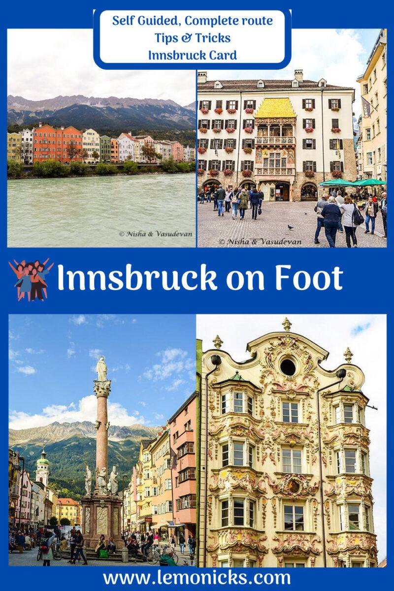 PIN Walking Tour of Innsbruck innsbruck tour of old city