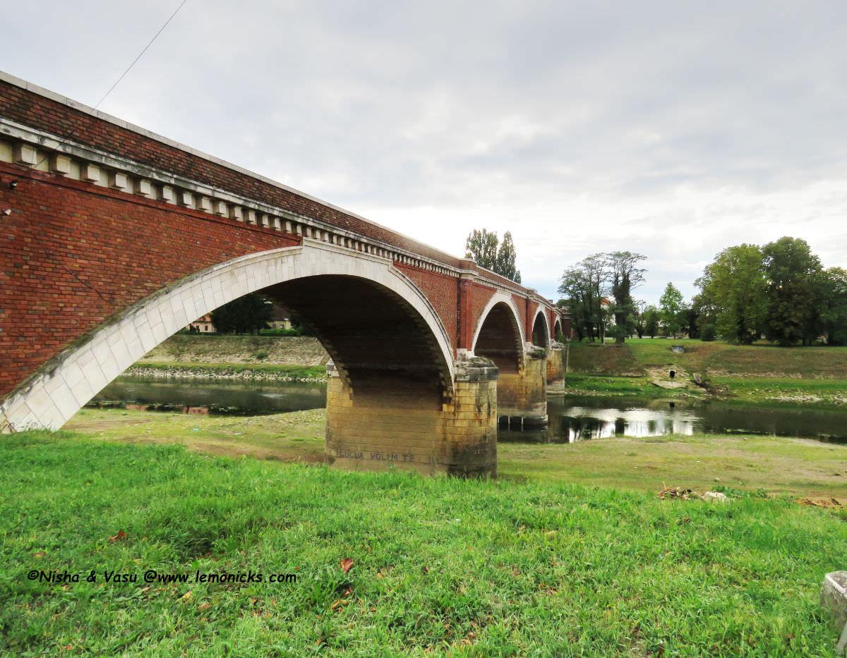 old bridge or stari most in Sisak Croatia @www.lemonicks.com