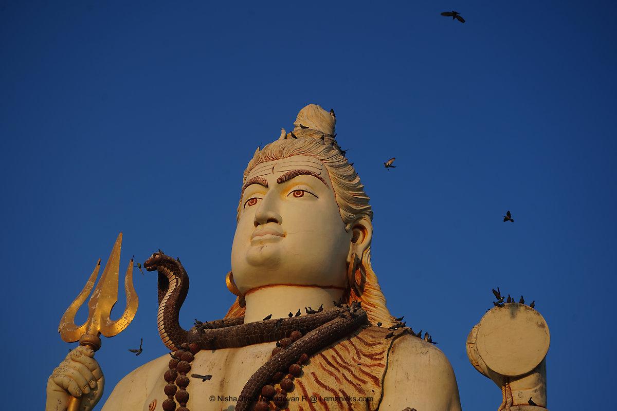 Nageshwar Jyotirlinga Temple, Dwarka darukavanam @www.lemonicks.com