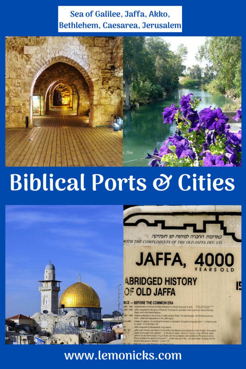PIN Biblical Ports cities Israel 01 @lemonicks.com
