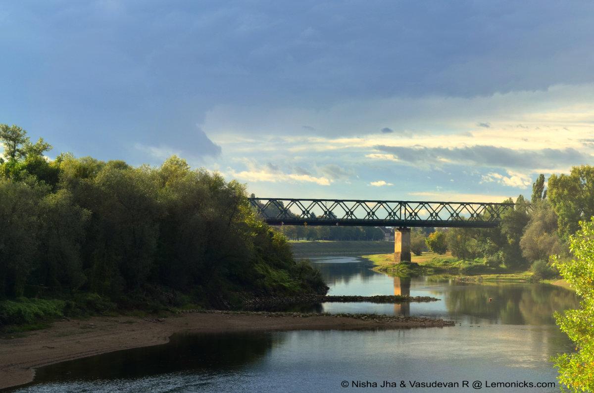 Željeznički Most Sisak old Railway Bridge, Sisak