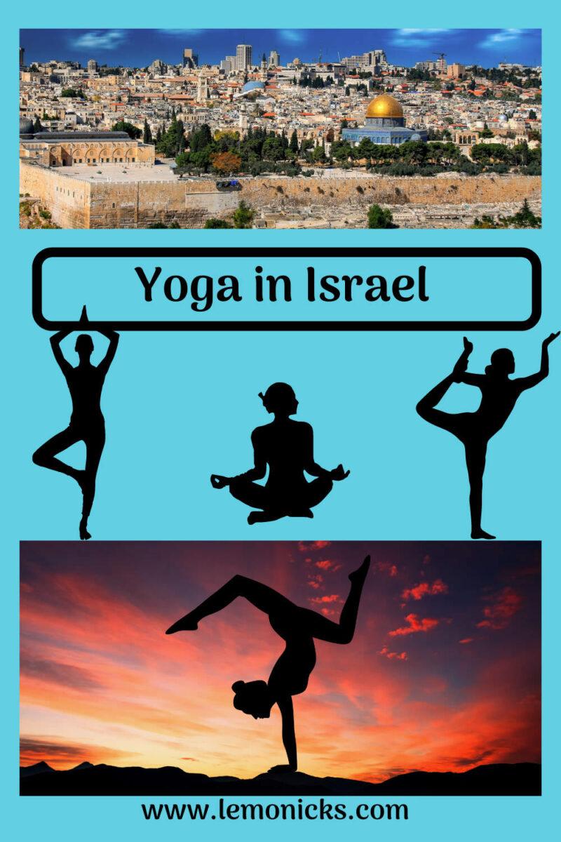 PIN Yoga in Israel @lemonicks.com