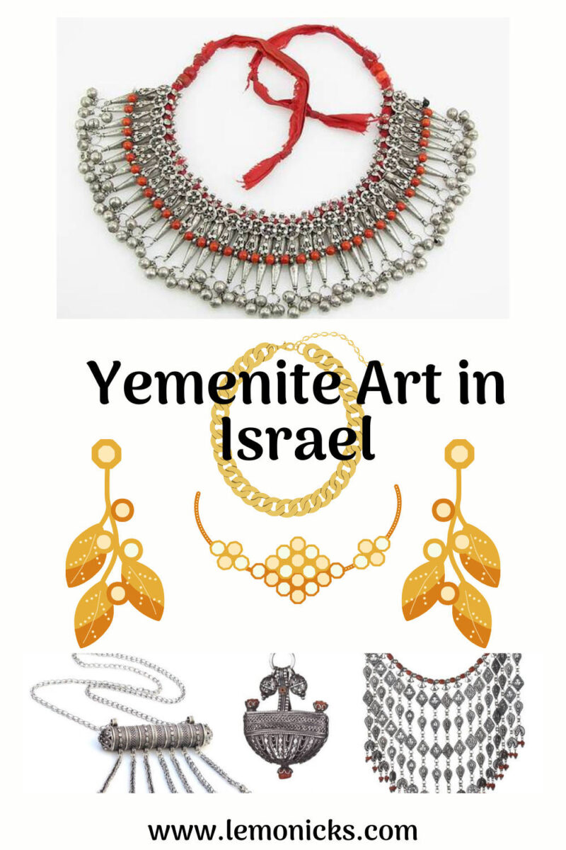 PIN Yemenite Art in Israel @www.lemonicks.com